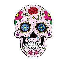 Mexican sugar skull Photographic Print
