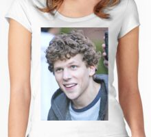 Jesse Eisenberg Women's Fitted Scoop T-Shirt