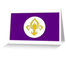 Order of the Violet Saints Greeting Card