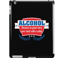 alcohol salad iPad Case/Skin