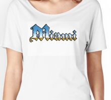Miami In Chrome style Women's Relaxed Fit T-Shirt