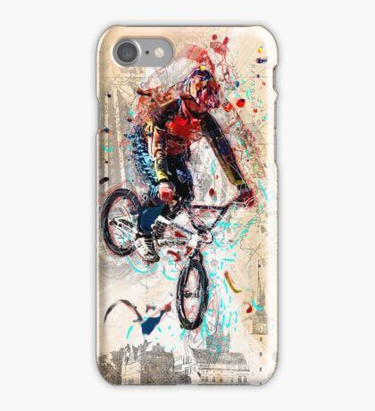 BMXing Like Peter Pan iPhone Case/Skin