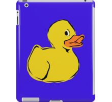 Rubber Toy Duck iPad Case/Skin