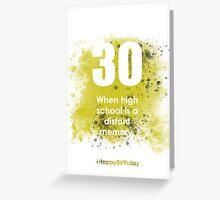 30-GreyLimeA | AgeIsJustANumber Greeting Card