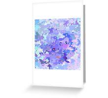 Lilac zinc Greeting Card