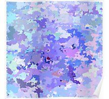 Lilac zinc Poster