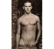 Vintage Young Channing Tatum Photographic Print