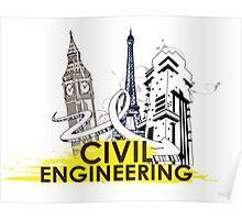 Civil Engineering! Poster