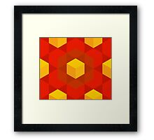 Astray Cubes Framed Print