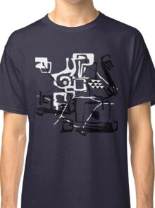 Abstract. Pseudo ethnic doodle. Classic T-Shirt