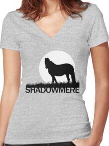 Shadowmere (Elder Scrolls) Women's Fitted V-Neck T-Shirt
