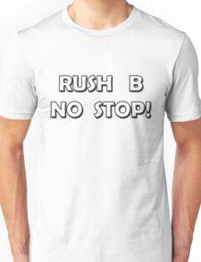 CSGO: Rush B No Stop! Large Image Unisex T-Shirt