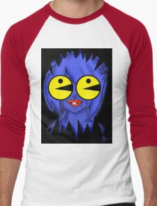 Ghost Chaser Lily Men's Baseball ¾ T-Shirt