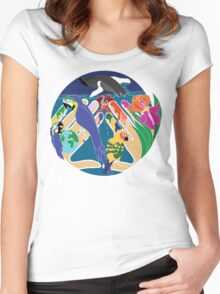 Tropical Creation Women's Fitted Scoop T-Shirt