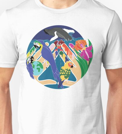 Tropical Creation Unisex T-Shirt