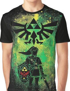Hyrule Art Graphic T-Shirt