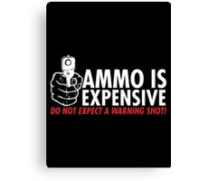 ammo shot Canvas Print