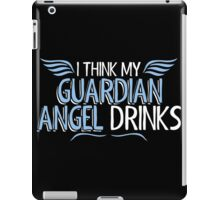angel drinks iPad Case/Skin