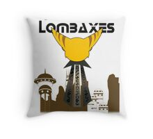 Fastoon Lombaxes (Ratchet and Clank) Throw Pillow