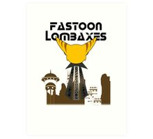 Fastoon Lombaxes (Ratchet and Clank) Art Print