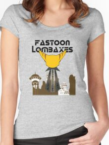 Fastoon Lombaxes (Ratchet and Clank) Women's Fitted Scoop T-Shirt