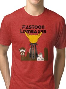 Fastoon Lombaxes (Ratchet and Clank) Tri-blend T-Shirt