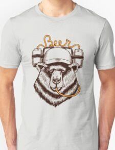 Bear love Beer Unisex T-Shirt