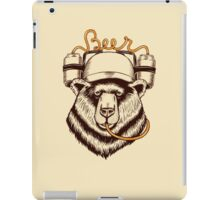 Bear love Beer iPad Case/Skin