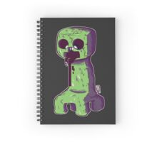 Creepy creeper Spiral Notebook