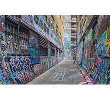Hosier Lane abstract 3 Photographic Print