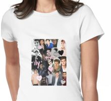 Daniel Sharman Collage Womens Fitted T-Shirt