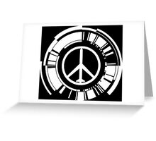 MGS - Peace walker - White Greeting Card