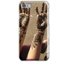 Mehndi for Hindu Weddings iPhone Case/Skin