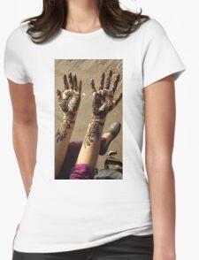 Mehndi for Hindu Weddings Womens Fitted T-Shirt