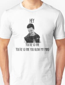 oh Mickey Milkovich you're so fine Unisex T-Shirt