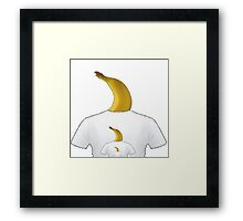 Banana Shirt Framed Print