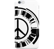 MGS - Peace walker - Black iPhone Case/Skin