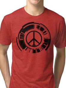 MGS - Peace walker - Black Tri-blend T-Shirt