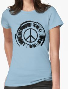 MGS - Peace walker - Black Womens Fitted T-Shirt