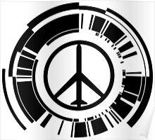 MGS - Peace walker - Black Poster