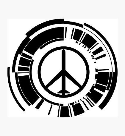 MGS - Peace walker - Black Photographic Print