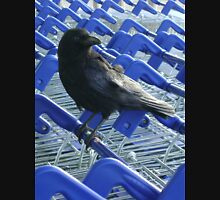 firm purchase (crow with shopping trolleys) Unisex T-Shirt