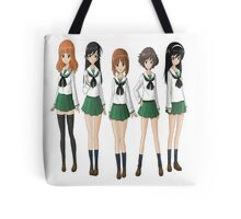 The Crew of Protagonist Tote Bag