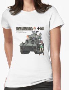 PANZER KAMPFWAGEN IV AUSF F. D Womens Fitted T-Shirt