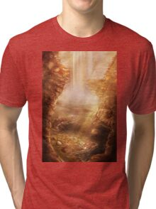 CT: A Hero is Born [Chronicles of Time] Tri-blend T-Shirt