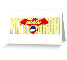DEFUNCT - PITTSBURGH CONDORS Greeting Card