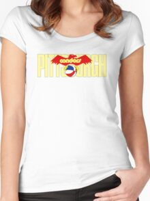 DEFUNCT - PITTSBURGH CONDORS Women's Fitted Scoop T-Shirt