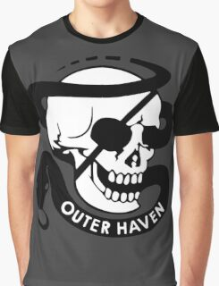 MGS - Outer Haven Skull Graphic T-Shirt