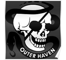 MGS - Outer Haven Skull Poster