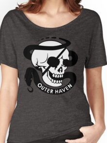 MGS - Outer Haven Skull Women's Relaxed Fit T-Shirt